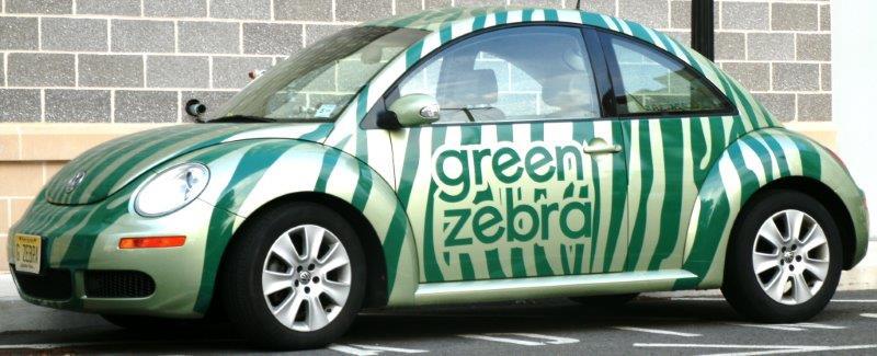 Green Zebra vehicle