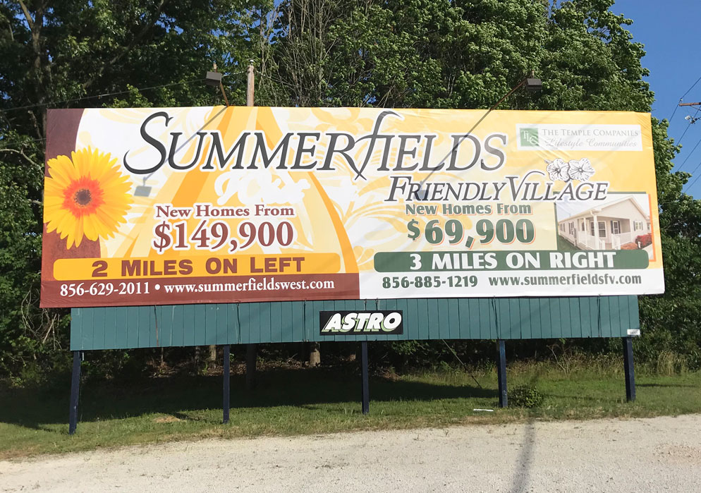 Outdoor Advertising billboardsummer