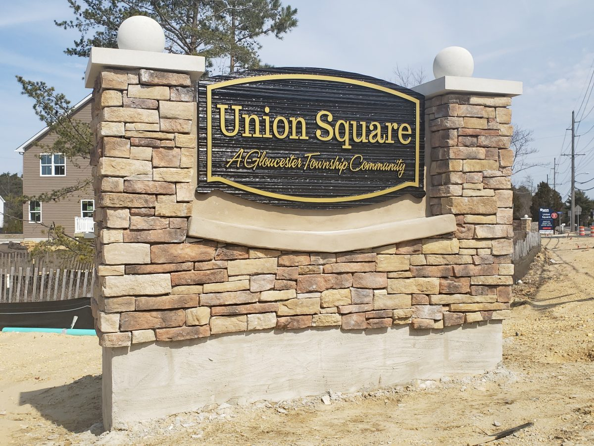 Union Square in Gloucester